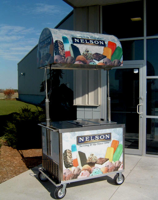 BDC8 nelson ice cream dipping cart
