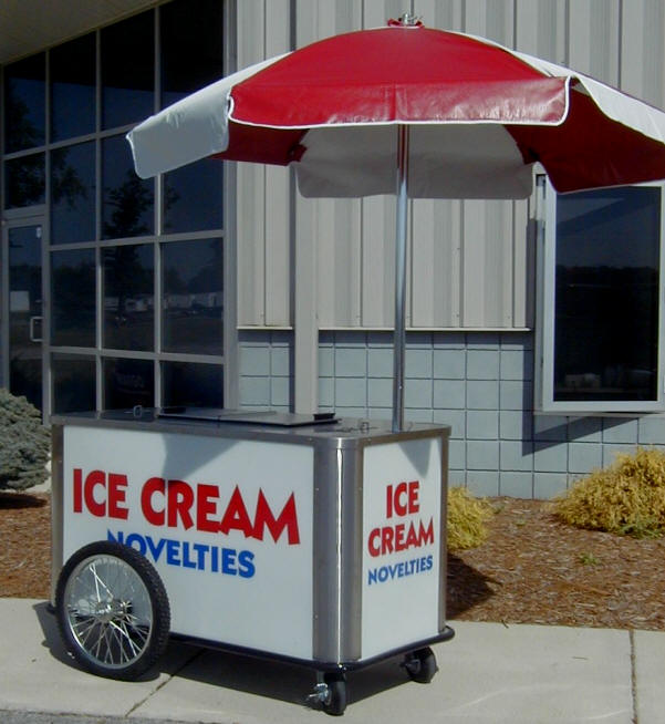 nelson ice cream dipping cart for sale