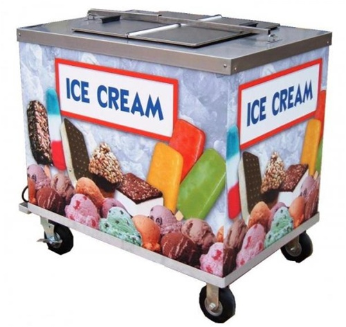 italian ice push cart for sale