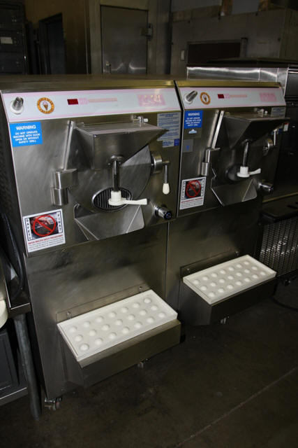 USED BATCH FREEZERS CARPIGIANI