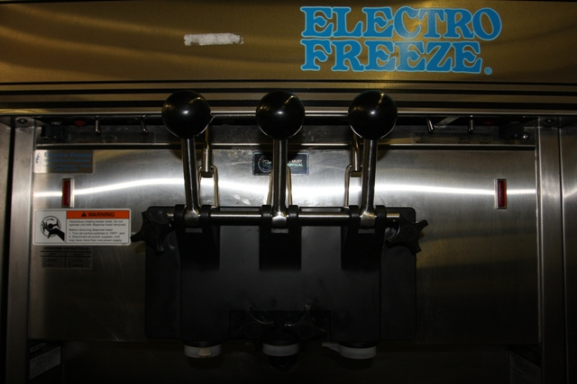 soft serv machine used electro freeze
