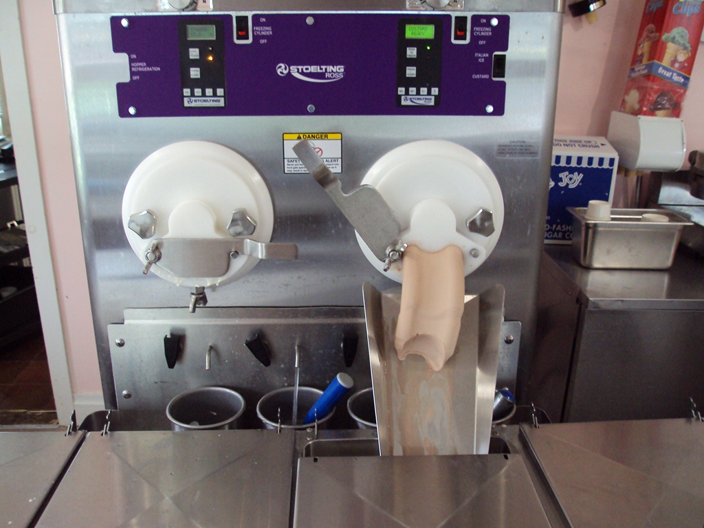 Used Custard Machines Batch Ice Cream Equipment For Sale