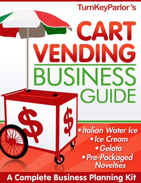 Neil Williams Ice Cream Vending Business Book