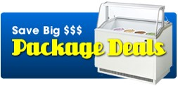 Package Deals on Ice Cream Store Equipment