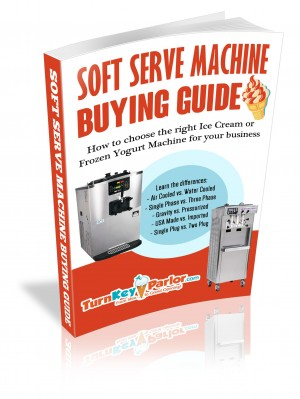 Soft Serve Ice Cream Machine Guide Book