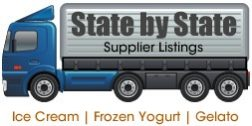 Suppliers Distributors By State - Ice Cream Gelato Frozen Yogurt Italian Ice