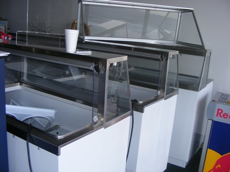 Ice Cream Dipping FreezerVused - Dipping cabinet
