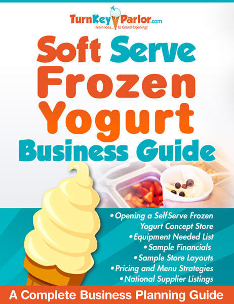 frozen yogurt machines