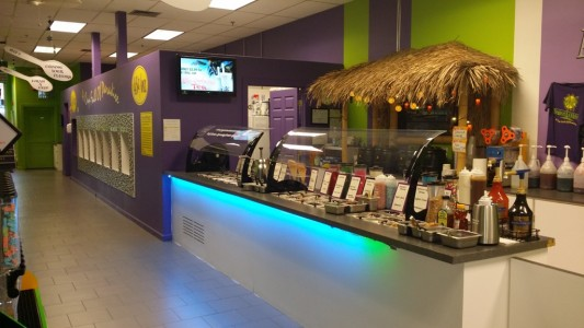 frozen yogurt equipment store for sale in