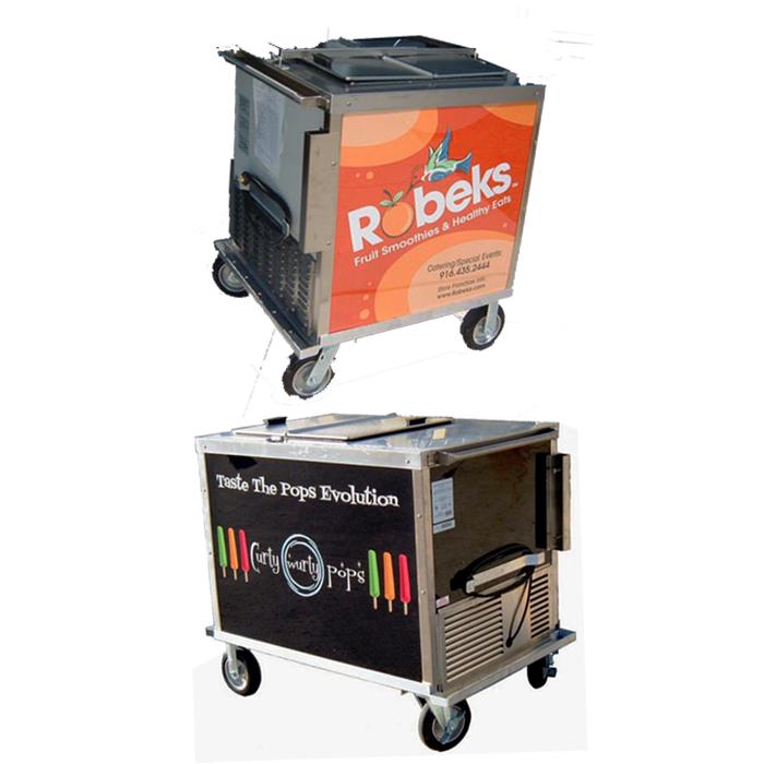 BDC8-NCP Ice Cream Push Cart
