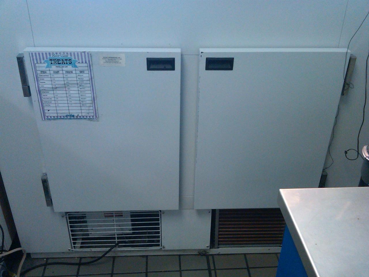 Used Ice Cream Cake Freezer Display Case Masterbilt Fip 50